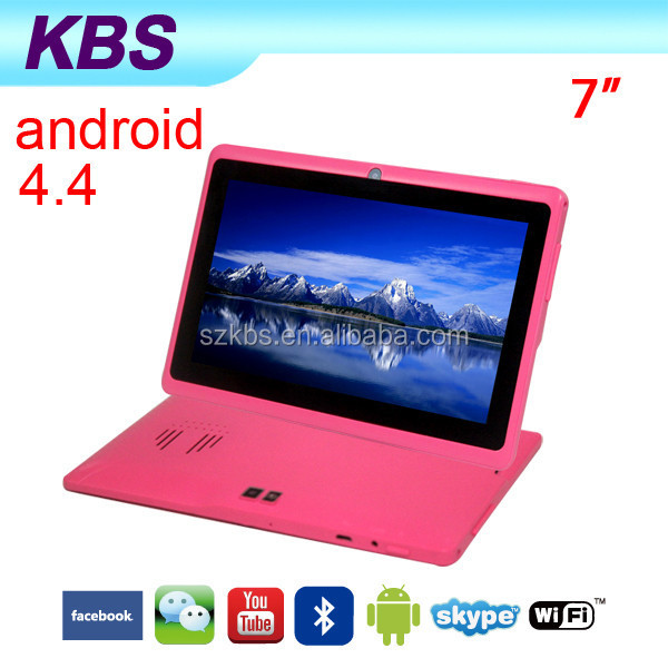 Cheap Phone Call Super Smart Ultra Slim Tablet PC With 13MP Camera Flashlight ,Android 4.4 OS,Unbranded Tablet PC Battery 3.7V