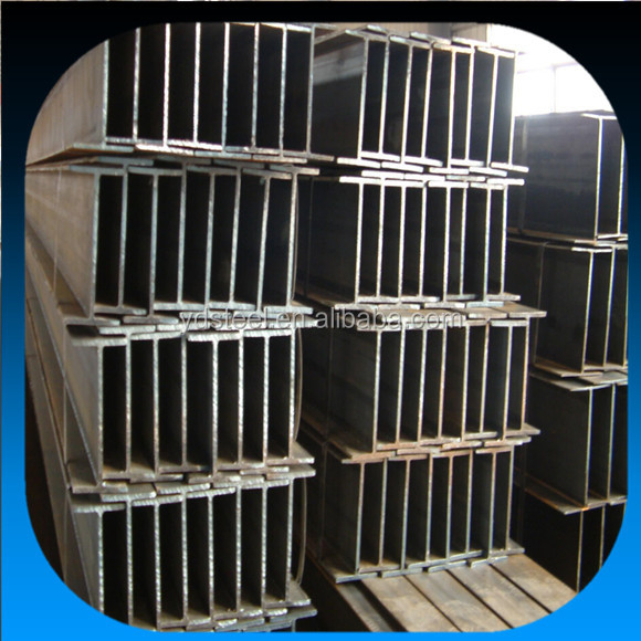 h beams dimensions q235 q345 ss400 standard structural steel hot rolled h beam dimension size