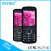 "China 2.4"" 2G Dual Sim very small mobile phone with 800Mah Lithium Battery"