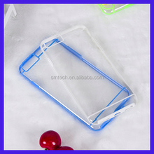 Hard back plastic PC+Tpu Clear Hard Phone tpu Case cover For iPhone 6 Case