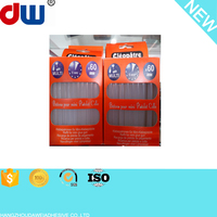 Hot melt fusion keratin glue stick