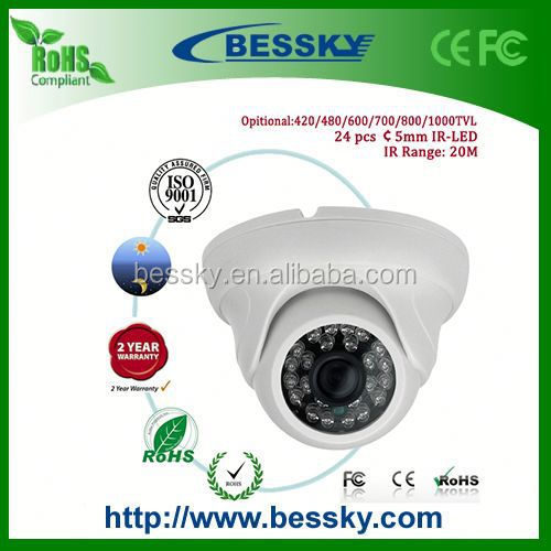 2015 Factory Price Sony CCD 600tvl IR Camera,android non camera phone, Security CCTV Camera