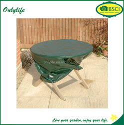 onlylife outdoor furniture/garden table cover / PE cloth round table cover