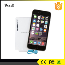 Cell phone charge 3000mah power bank, factory wholesale ultra slim power bank