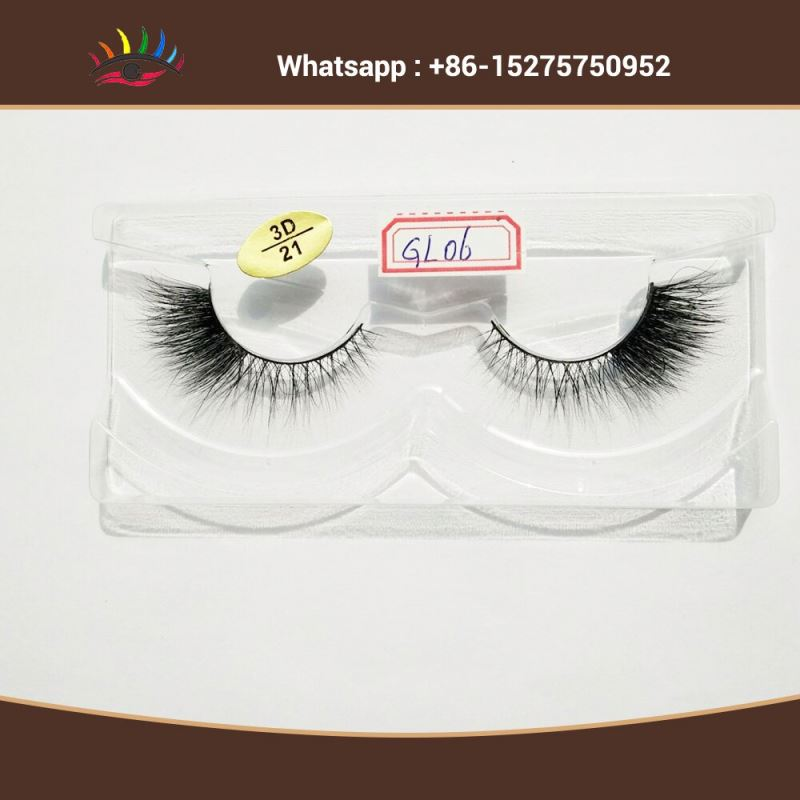 Indidual Cross 3D Mink Fales Eyelashes