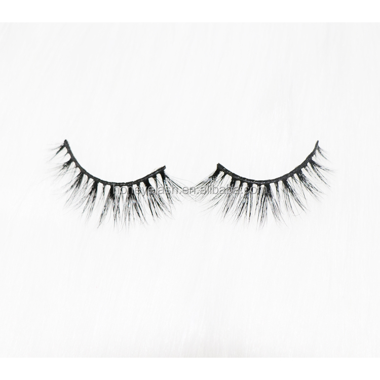 Luxury soft 3d real mink strip eyelashes private label mink lashes <strong>M10</strong>