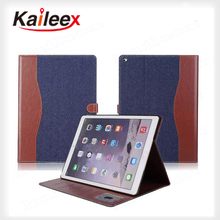 Accepted Custom Mobile Case For iPad Pro Case Leather With Stand
