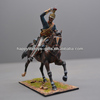 Custom Made Horseman Metal Figurine