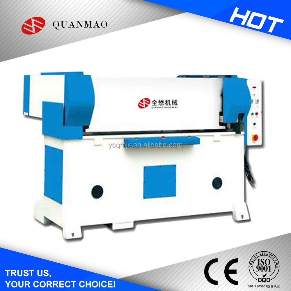 Automatic parallel moving precision four-column hydraulic plastic bag making machine