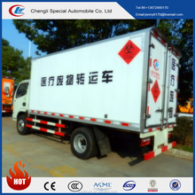 Dongfeng 3 tons medical waste transportation truck medical waste container for sale