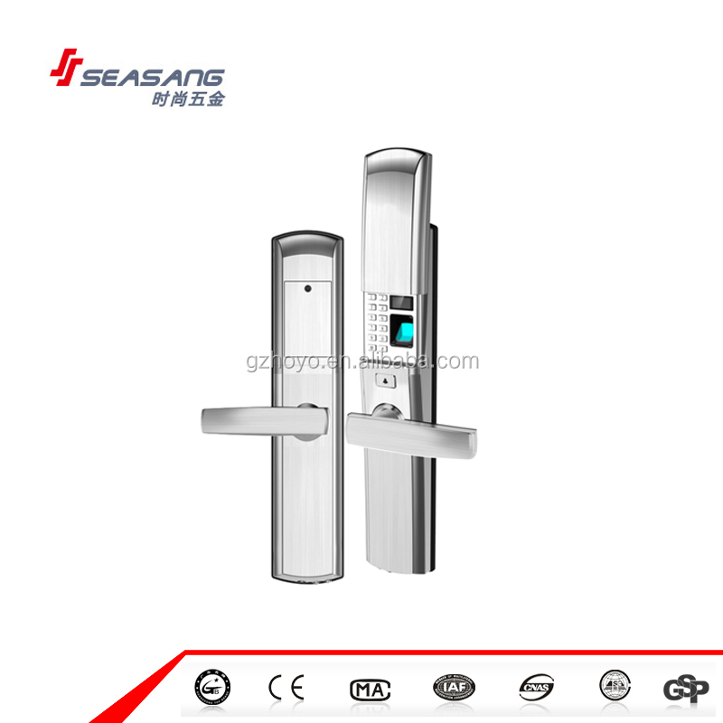 High security biometric fingerprint keypad door locks home commercial smart door lock