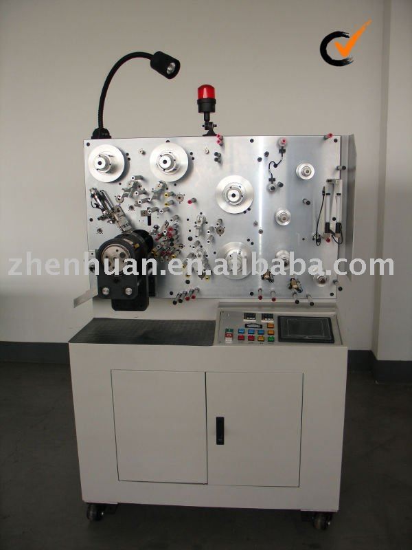 Capacitor winding machine