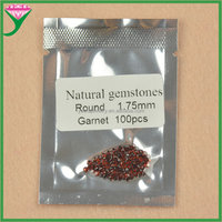 Small Size Stone Stock Garnet Jewelry Round 1.75mm Natural Raw Red Garnet