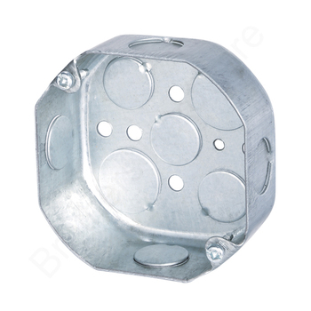 UL listed metal octagon box electrical steel box metal electrical box