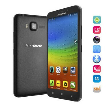 Original 5.5 Inch MTK6592 Lenovo A916 smartphone with Android 4.4 4G FDD-LTE 1280 x 720 HD screen phone