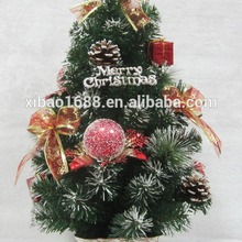 Xibao brand Cheap New style tabletop 30cm mini artificial christmas tree
