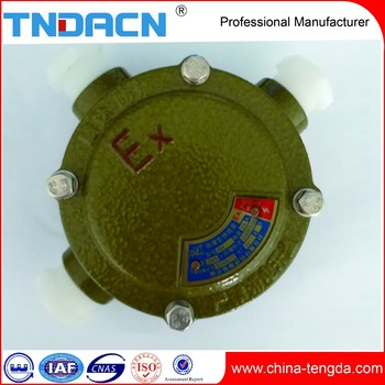 Electrical Circular Explosion Proof Junction Box Outlet