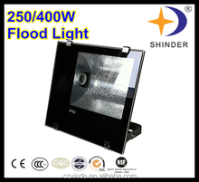 outdoor waterproof 250W HID lamp custom color floodlight IP65 lamp holder fitting