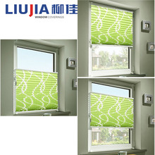 New Style Water Proof Lace Pleated Window Blinds,Good Quality Pleated Blinds