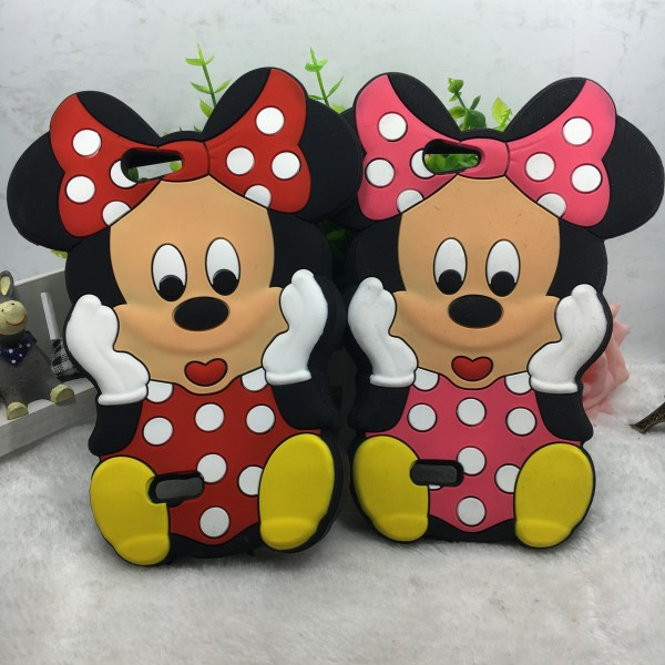 3d cartoon classical Minnie Silicone clear phone case for zte blade <strong>l2</strong>