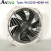 12v 24v 48v industrial welding small window or wall mounted square metal axial smoke basement exhaust fan