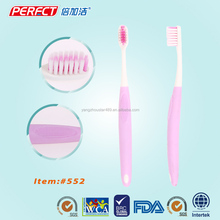 ISO Tapered Filaments Tooth Brush Long Handle Oral Fresh Toothbrush