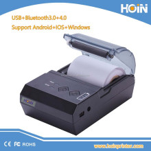 Mobile rechargeable wireless hand carry thermal receipt printer compatiate with cash machine