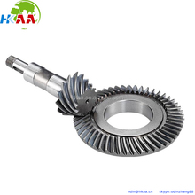 Stainless Steel Rear-axle Spiral Hypoid Bevel Gear