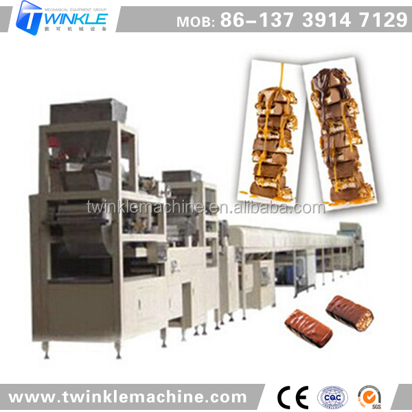 TK-BAF-300 MUSELI, CEREAL CONFECTIONERY CHOCOLATE BARS MAKING MACHINE