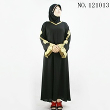 new model black dubai abaya 2016 muslim abaya