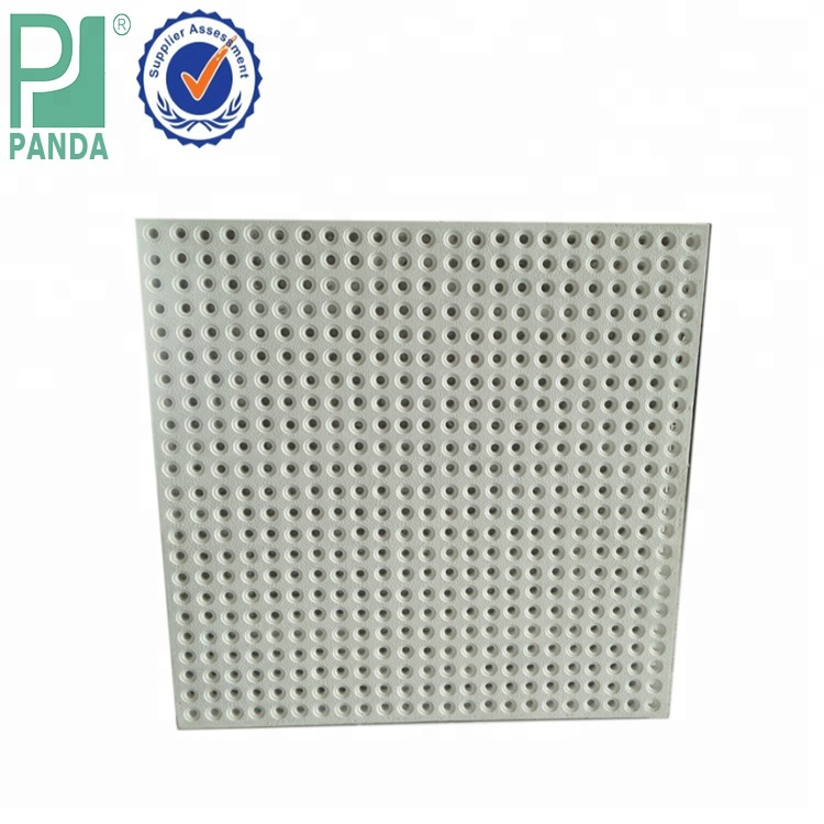 60x60 Grg Glass Fiber Reinforced Perforated Plaster Gypsum Ceiling Board Buy Plaster Gypsum Ceiling Board Perforated Plaster Gypsum Ceiling
