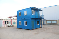 Expandable quick build prefabricated house building labor camp porta cabin in saudi arabia uae