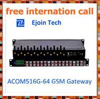 HOT SALE !! call center equipment acom515-16/64 card gsm/cdma/wcdma gateway free phones