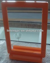 Orange MDF Framed Dining Table Mirror