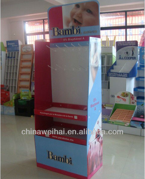 Yiwu cardboard countertop display
