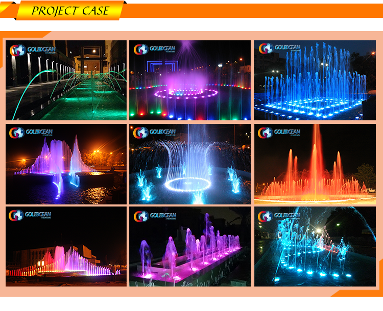 Graphic Waterfall Digital Water Curtain Water Fountain with Competitive Price
