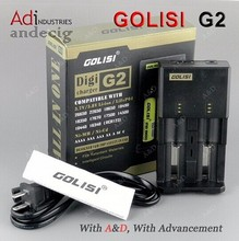 High quality warranty 1 year for e-cigar battery charger Golisi G2 for 18650 battery