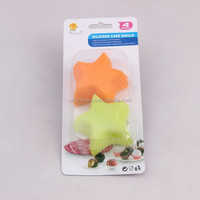 Silicone teacup cupcake molds