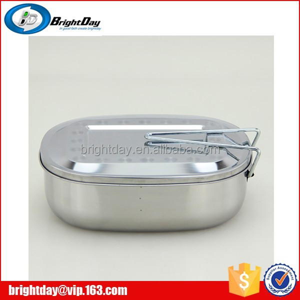 India food container stainless steel lunch box with compartment
