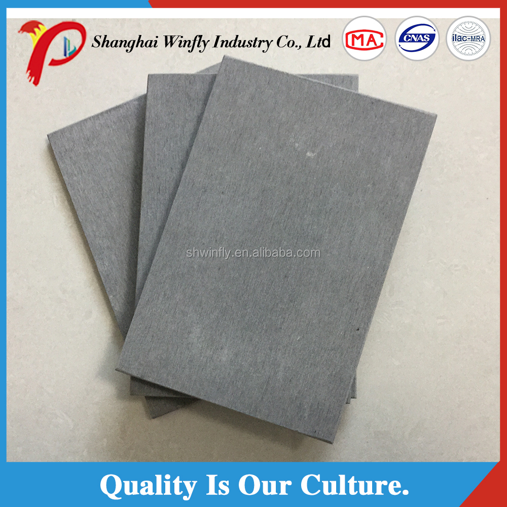 2017 hot sale china manufacturer fireproof outdoor non asbestos fiber cement siding board