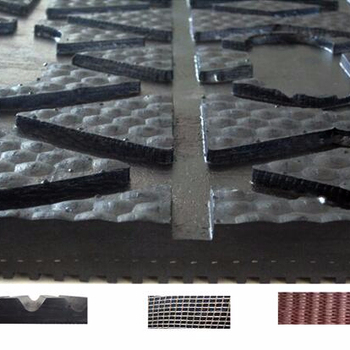 fine ribbed surface with insertion cow rubber mat