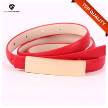 2017 Women Super Thin Homemade Artificial Belt Pure Leather Belts