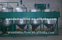 5T/D Waste Oil Refining Equipment/Edible Oil Refinery