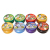 OEM/ODM 150g HOLD NITRO 7 color elastic styling hair wax for man