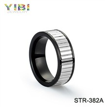 Jewelry wholesale new Silver Engagement stainless steel ring
