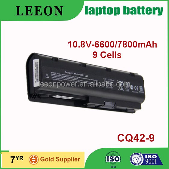 LEEON replacement 7800mAh laptop battery for HP DV4 DV6 CQ42 G42
