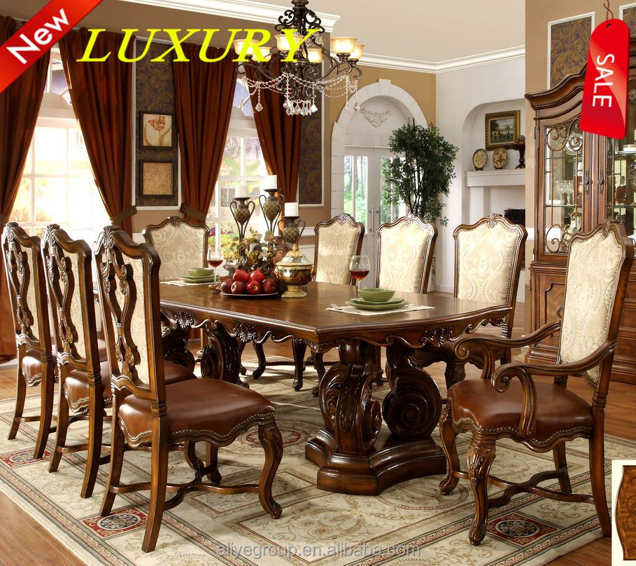 9005A-25-wooden dining table standard furniture dining room sets solid oak dining table set