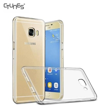 For Galaxy C5 Pro Case, Ultra Thin Transparent Soft Gel TPU Silicone Case Cover for Samsung Galaxy C5 Pro