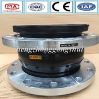 large size double head stainless steel reinforced bellows expansion joint