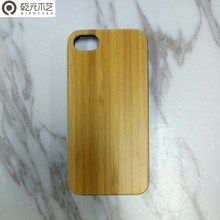 Waterproof phone case led wooden phone case for i5